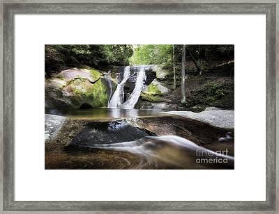 Widows Creek Falls 3 Framed Print by Patrick M Lynch