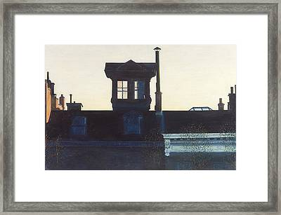 Widows Walk Brooklyn Heights Nyc Framed Print by Anthony Butera