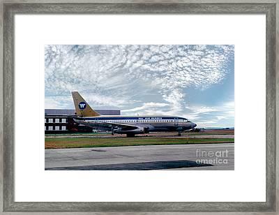 Wien Air Alaska Boeing 737, N4907 Framed Print by Wernher Krutein