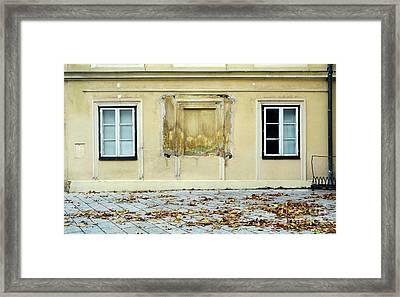 Wiener Wohnhaus Framed Print