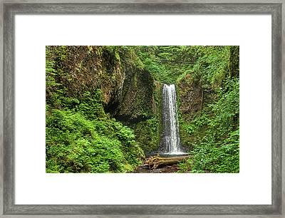 Wiesendanger Falls Framed Print