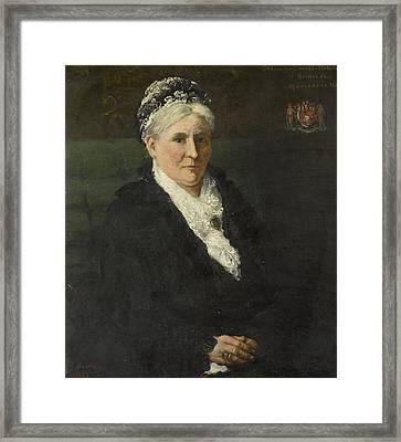 Wife Of David Menno Framed Print