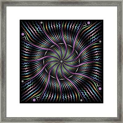 Wiggle Framed Print by Becky Titus