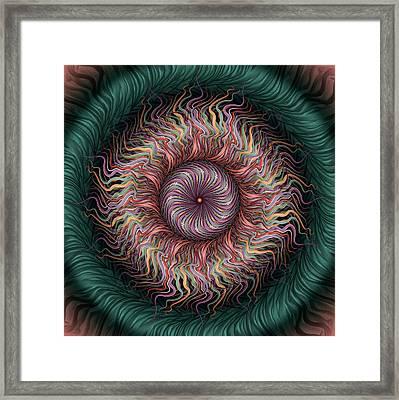 Wiggle Room Framed Print