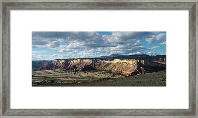 Wiggler Wash Overlook Framed Print by Joseph Smith