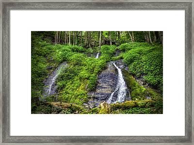 Wigwam Falls Framed Print