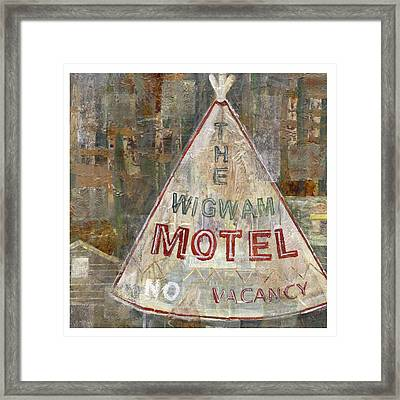Wigwam Motel Framed Print