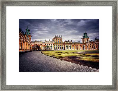 Wilanow Palace In Warsaw  Framed Print by Carol Japp