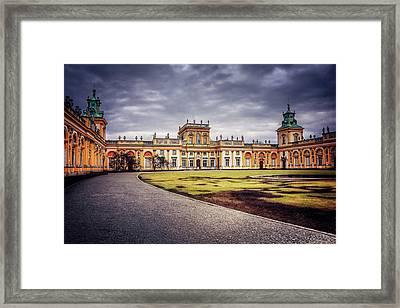Wilanow Palace In Warsaw  Framed Print by Carol Japp