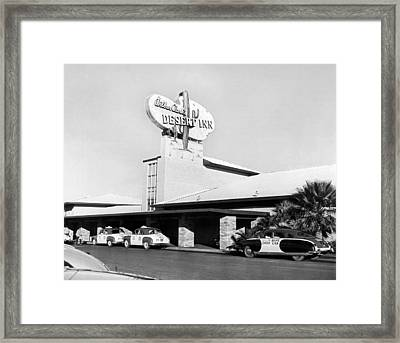 Wilbur Clark's Desert Inn Framed Print by Underwood Archives