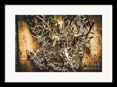 Handmade Necklace Framed Prints