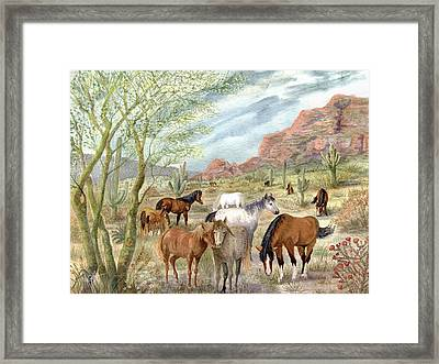 Wild And Free Forever Framed Print