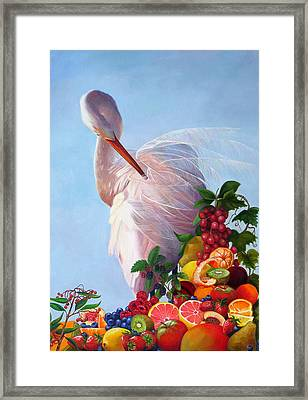 Wild And Sweet 7 Framed Print by Valerie Aune
