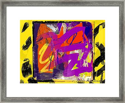 Wild And Wicked 6 Framed Print by Janis Kirstein