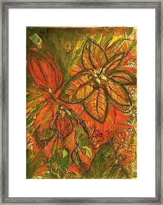 Wild And Wonderful With No Fear Framed Print by Anne-Elizabeth Whiteway