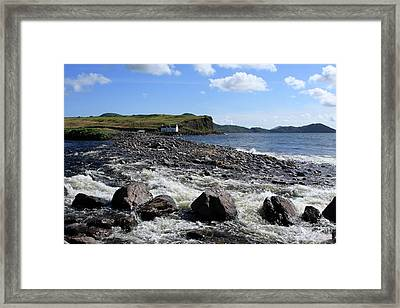 Wild Atlantic Way, Waterville, County Kerry Framed Print by Aidan Moran