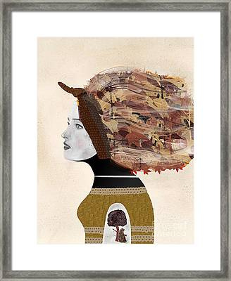 Framed Print featuring the painting Wild Autumn by Bri B