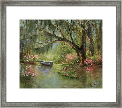 Wild Azaleas Framed Print by Jane Woodward