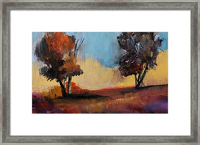 Wild Beautiful Places Trees Landscape Framed Print