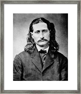 Wild Bill Hickok - American Gunfighter Legend Framed Print