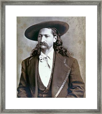 Wild Bill Hickok  1873 Framed Print by Daniel Hagerman