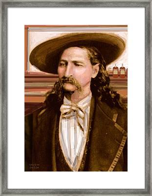 Wild Bill Hickok Framed Print by Larry Lamb