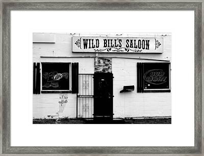 Wild Bill's Framed Print by William Jones