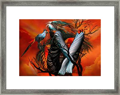 Wild Birds Framed Print by Carol Cavalaris