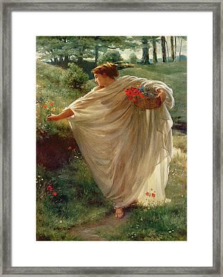Wild Blossoms Framed Print