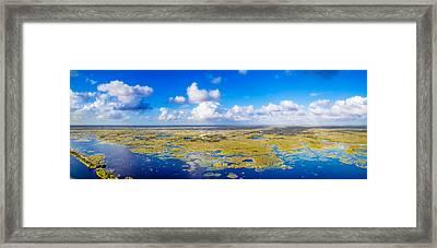Wild Blue Yonder Framed Print by Mark Andrew Thomas