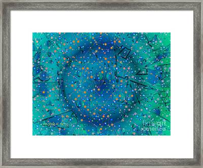 The Wild Blueberry Framed Print by Moustafa Al Hatter