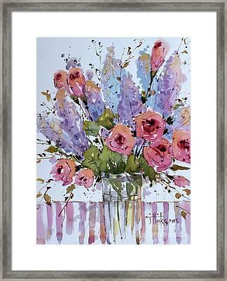 Wild Bouquet Framed Print