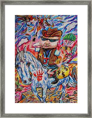 Wild Boy Jimmy Framed Print