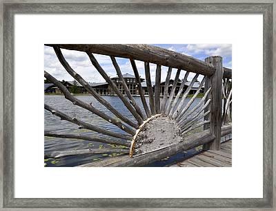 Wild Center Framed Print