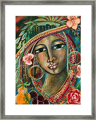 Wild Child Framed Print by Shiloh Sophia McCloud