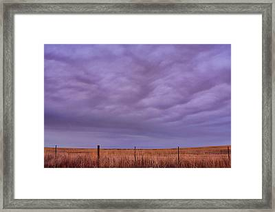 Wild Country Sky Framed Print by James BO  Insogna