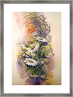 Wild Daisies Framed Print by Brooke Lyman