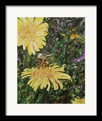 Fertilize Paintings Framed Prints