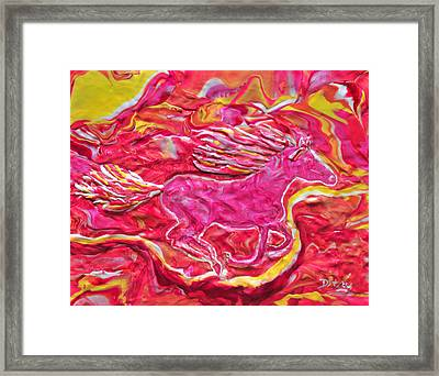 Wild Fire Framed Print