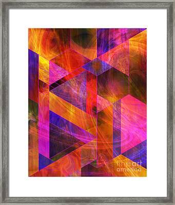 Wild Fire Framed Print by John Beck