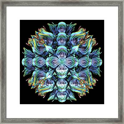 Framed Print featuring the digital art Wild Flower by Lyle Hatch