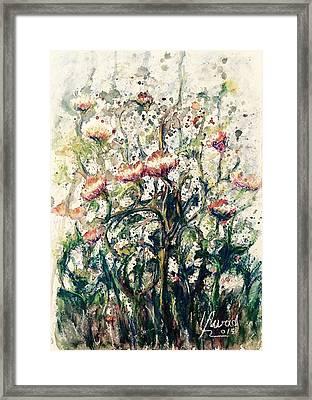 Wild Flowers # 2 Framed Print