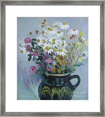 Wild Flowers 2 Framed Print by Elena Oleniuc