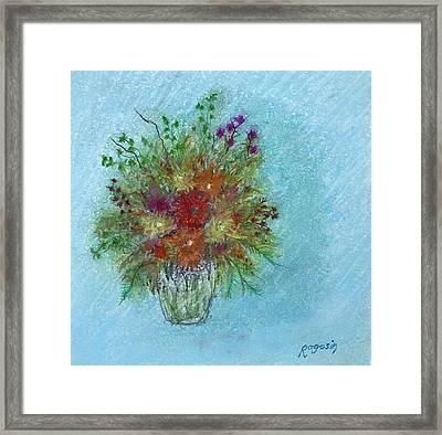 Wild Flowers Framed Print by Harvey Rogosin