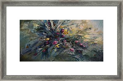 'wild Flowers' Framed Print by Michael Lang