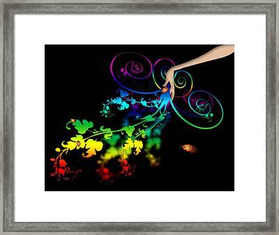 Wild Flowers Framed Print by Svetlana Sewell