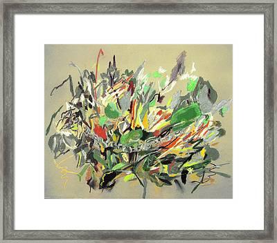 Wild Flowers  Framed Print by Tadeush Zhakhovskyy
