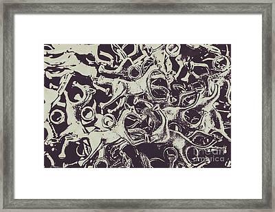 Wild Form Framed Print