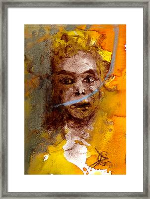 Wild Girl  Framed Print by Original Art For your home