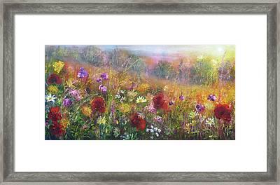 Wild Glory Framed Print by Ann Marie Bone